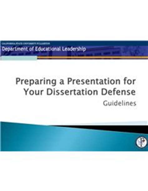 Graduation thesis defense